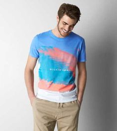 AEO Wicked Cool Graphic T-Shirt - Buy One Get One 50% Off + Free Shipping