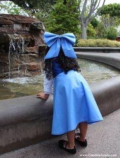 DIY Ariel's Blue Dress - Ariel the Littler Mermaid - Mermaid Inspired - Kiss the Girl Dress