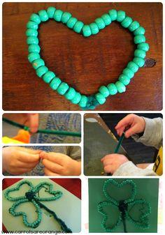 St. Patricks Day Fine Motor Skill Activity for Kids