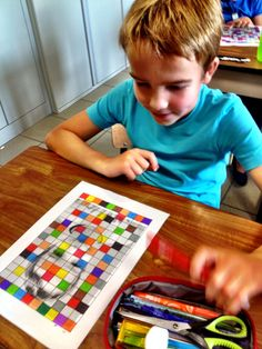 Art For Kids, Crafts For Kids, Arts And Crafts, Drawing Lessons, Art Classroom, Primary School, Art School, Pop Art, Mosaic