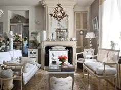 gustavian style decorating   French Home in Tourain   Inspiring Interiors