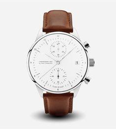 1844 Chronograph Watch - Brown Strap