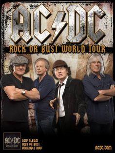 Agenda Concerts-Metal | AC/DC European Tour 2016 - 16/05/2016 - Werchter - Vlaams-Brabant - Belgique