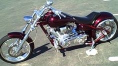 Sweet CUSTOM Big Dog Chopper!!!                                                                                                                                                     More
