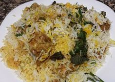 Biryani Rice Recipe, Briyani Recipe, Spicy Recipes, Indian Food Recipes, Cooking Recipes, Indian Snacks, Chicken Recipes, Rice Dishes, Food Dishes