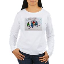 Shop Christmas ice skating Long Sleeve T-Shirt designed by Acrylic-Cats. Lots of different size and color combinations to choose from. Buy A Cat, Cat Design, Ice Skating, Graphic Sweatshirt, T Shirt, Color Combinations, Shirt Designs, Sweatshirts, Long Sleeve
