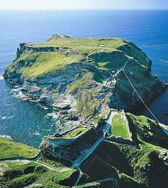 Tintagel Castle, Cornwall. One day the king will rise again...