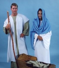 Joseph & Mary Biblical Costumes
