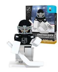 Los Angeles Kings JONATHAN QUICK Home Uniform Limited Edition NHL Goalie OYO Minifigure