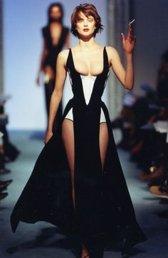 Image result for thierry mugler 80s runway
