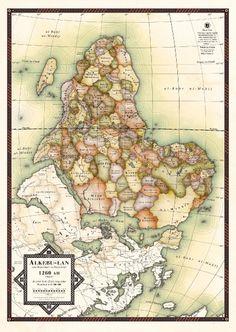 Wie Afrikas Karte aussähe, wenn Europa als Kolonialmacht niemals eingegriffen...