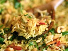 Indian Fried Rice with Cardamom.