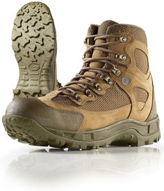 With the insurgence of mountain warfare, the HYBRID HIKER is the revolutionary boot in the combat footwear category. It is constructed for harsh environments and is built to take a beating, allowing you to rapidly maneuver through mountain combat. The upper features an indestructible Kevlar® based nylon. Adding to the durability is a sharkskin toe cap and heel counter. The HYBRID HIKER is a waterproof breathable boot featuring a custom Vibram® multi-terrain outsole