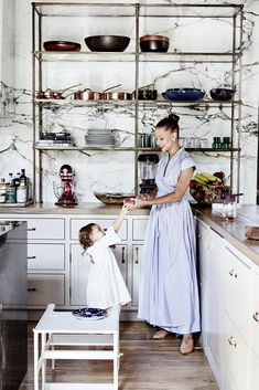 Denise Vasi and Anthony Mandler's stunning family home in Venice Beach, Ca. See the full tour, and read her interview on MyDomaine.com | Photo by: Jenna Peffley