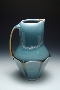 Ryan Greenheck's vase. Greenheck was one of Ceramics Monthly's 2011 Working Potters in the June/July/August issue. His studio is located in Philadelphia, Pennsylvania. http://ceramicartsdaily.org/ceramics-monthly/ceramics-monthly-junejulyaugust-2011/