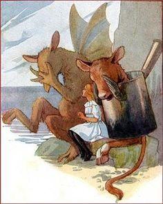 by Margaret Tarrant|1916|Alice's Adventures In Wonderland. by carter flynn