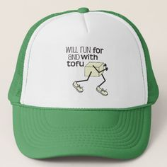 Funny TOFU Runner Trucker Hat