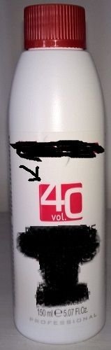 Smacchiatore universale: Acqua ossigenata 40 vol.