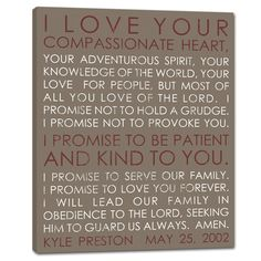 wall sign for home with words and dates - makes a sweet and thoughtful keepsake for a birthday. geezees.com/ #words #quotes #family #home #decor http://geezees.com/