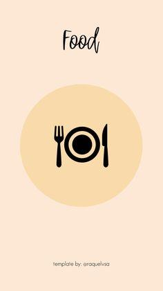 Instagram Symbols, Instagram Logo, Instagram Design, Free Instagram, Instagram Tips, Food Template, Cover Template, Templates, Creative Instagram Stories
