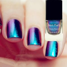 $10.30 Born Pretty Chameleon Nail Polish Varnish 6ml (Black Base Color Needed) #201 - BornPrettyStore.com GET 10% OFF WITH THIS CODE: SCT10