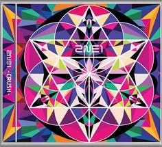 2NE1 New Album CRUSH PINK Edition K-POP CD + PHOTOCARD & FOLDED POSTER SEALED