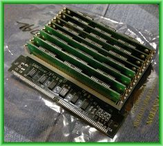 SIMM Saver 8 Slot 30 Pin SIMM to Single Slot 72 SIMM converter
