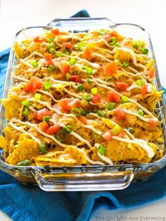 This Nacho Pot Pie has a taco flavored filling of black beans and corn topped with a crushed tortilla chip crust. My son actually came to me with this idea for dinner. He's 10 years-old and helps make our tacos for Taco Tuesday every week. But this week he wanted to switch things up with …
