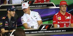 Alonso, en Brasil. 'Si pasa algo, quizás gane el campeonato'.