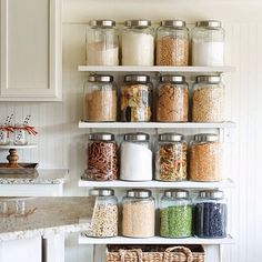 We love how Kristen of Ella Claire used our Large Glass Kitchen Jars to get organized! View more World Market goods in her Fall Home Tour at http://ift.tt/SQ4WHO. (link in profile to #shop) Photo...