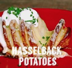 Introducing the perfect party food: hasselback potatoes
