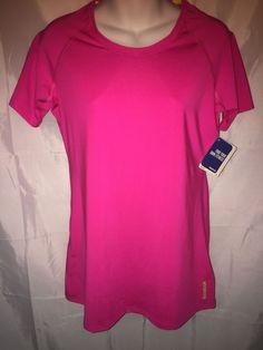 reebok dri fit t shirt womens purple