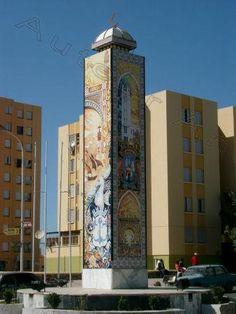 Une oeuvre sur la route d'Oran