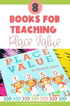 Practicing place value activities with your students? Check out these 8 books PERFECT for teaching place value concepts to primary students! Click the pin to learn which books to grab to support your students math knowledge! Easy Math, Simple Math, Teaching Second Grade, First Grade Math, Kindergarten Math Activities, Teaching Math, Learn Basic Math, Teaching Place Values, Special Education Math