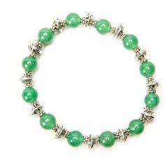 Lana Gemstone and Tibetan Silver Stacking Bracelets
