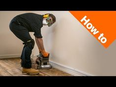 How to Sand & Varnish Floorboards Part 1: Preparation & Sanding - YouTube