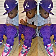 WHERE THERE IS A KID WITH SWAGG,THERE IS A WHOLE FAMILY WITH SWAGG...! AMEN?