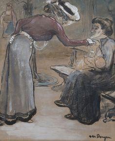 Kees van Dongen, 'Scène de rue', ca. 1902