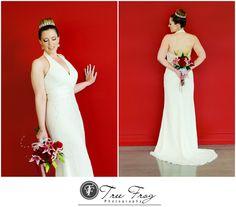 Bridal Portraits at Salem Conference Center in Salem, Oregon