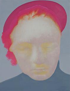 HÅVARD HOMSTVEDT  The Bungler (Pink), 2012  Oil on canvas over panel  28,5 x 21,5 cm