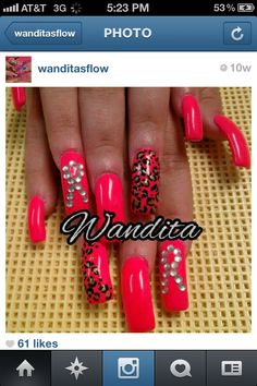 Nails by Wandita.  Picture provided via Instagram