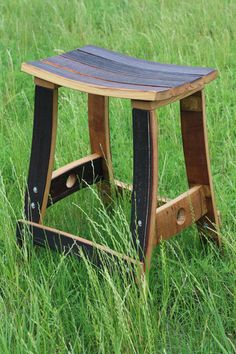 Cool things my friend makes out of wine barrels Wine Barrel Bar Stools, Wine Barrels, Wine Barrel Diy, Whiskey Barrel Furniture, Barris, Barrel Projects, Bourbon Barrel, Handmade Furniture, Rustic Furniture