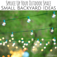 If you're lucky enough to have a small outdoor space behind your apartment, turn it into a cute backyard with these tips!