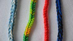 Как связать шнур крючком. Easy crocheted i-cord