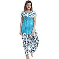 TUCUTE Top and Dhoti Style Bottom Night Suit/Nighty/Nightdress/Night Gown for Women and Girls Size: L/XL/XXL  TUCUTE Top and Dhoti Style Bottom Night Suit/Nighty/Nightdress/Night Gown for Women and Girls Size: L/XL/XXL  3.9 out of 5 stars 255  450.00 - 499.00  #india_ig #indiafashion #indiana #indiandresses #mumbai #india #indianoutfit #madhyapradesh #bangalore #delhi #indiancouture #india_everyday #indianclothing #indianjokes #indiansaree #chennai #indians #bihar #indianwriters #india_gram… Indian Gowns, Indian Sarees, Indian Outfits, Punjabi Wedding Suit, Wedding Suits, Night Suit, Night Gown, Womens Nighties, Indian Couture