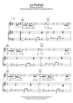 Calogero: Le Portrait - Partition Piano Voix Guitare - Plus de 70.000 partitions à imprimer !