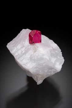 Spinel on Marble - Burma