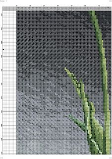 los gráficos del gato: TULIPANES Counted Cross Stitch Patterns, Cross Stitch Embroidery, Russian Cross Stitch, Purple Tulips, Cross Stitch Flowers, Cactus Plants, Lady In Red, Beautiful Flowers, Painting