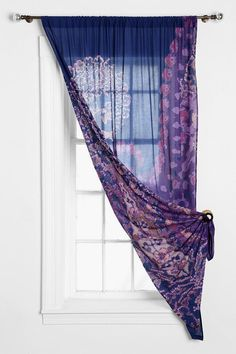 Magical Thinking Fire Paisley Curtain #urbanoutfitters