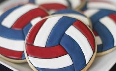 IMG_5532 by Ashleigh30, via Flickr  SO CUTE Volleyball cookies